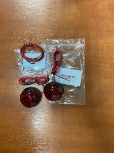 Rear lights, pack of 2