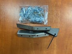 Toylander 2 windscreen hinges & fixings (pair)