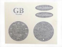 TL2 instrument stickers