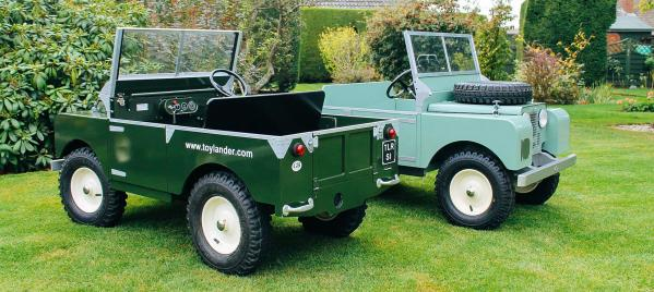 How does a mini Land Rover compare with the original?
