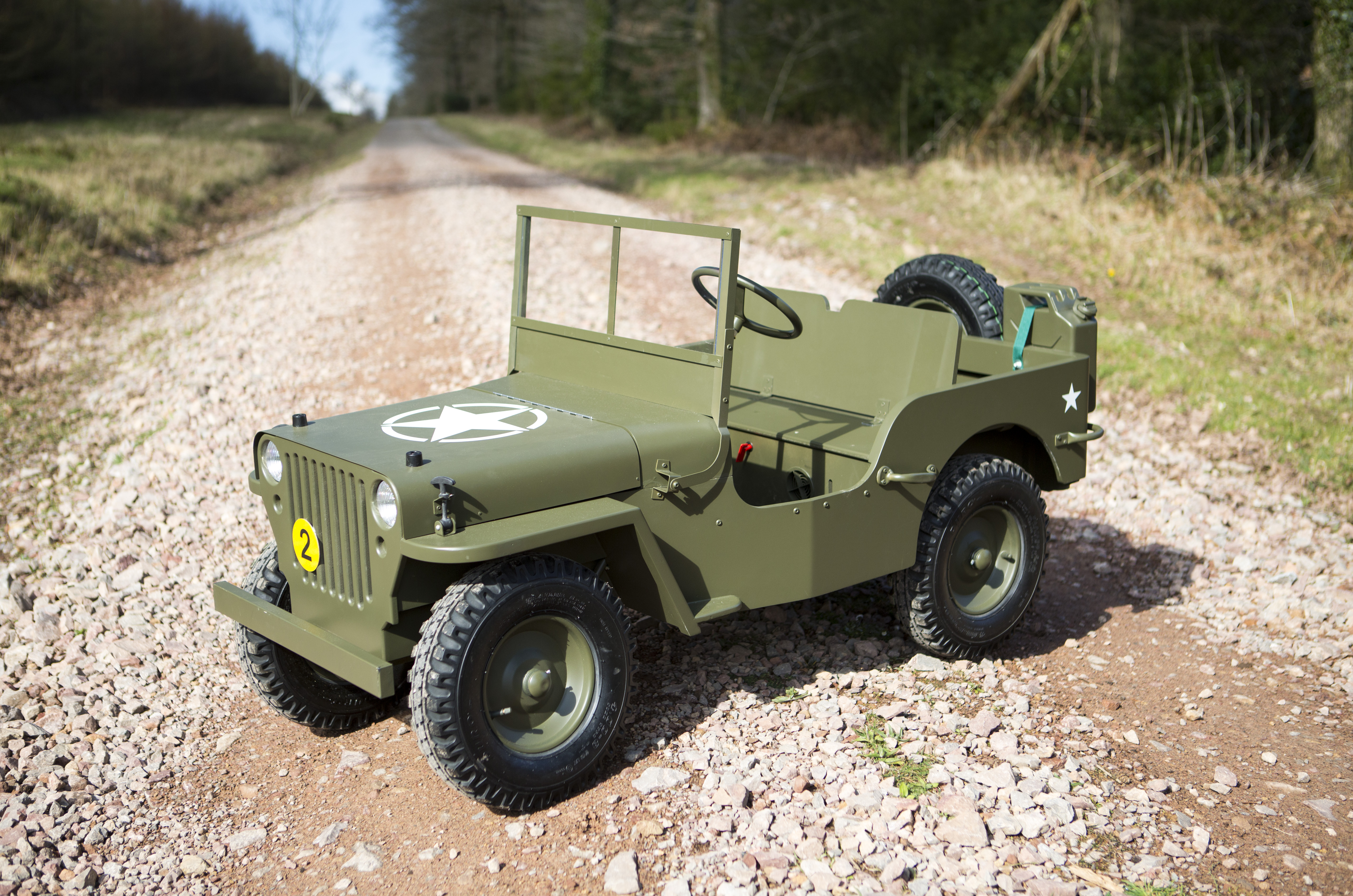Toylander 3 Mb43 Willys Army Jeep 174 Kids Ride On Electric