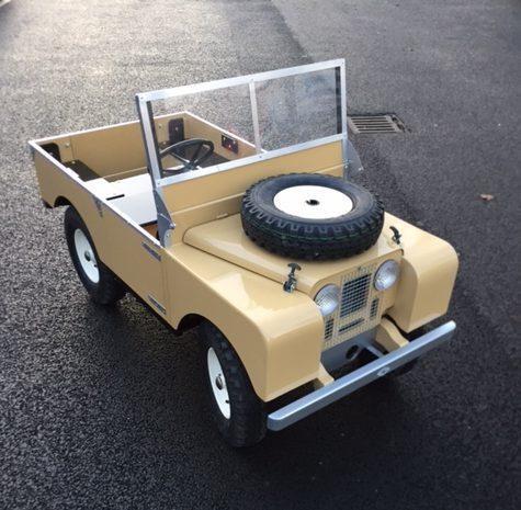 Children's Land Rover