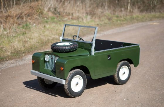 Why your next present for your child should be a mini land rover