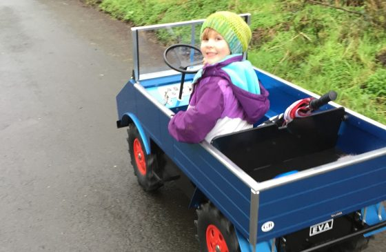 Keep home-learning fun: Building, maintenance and driving the kit car with your child